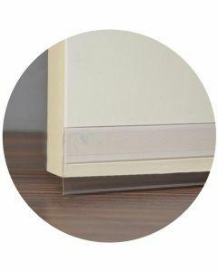 Tochtstrip-deur-transparant
