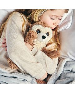 Warmies-knuffel-warmteknuffel-meerkat-stokstaartje-winter-sfeerbeeld-lavendel