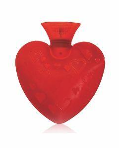 warm water kruik rood hartje