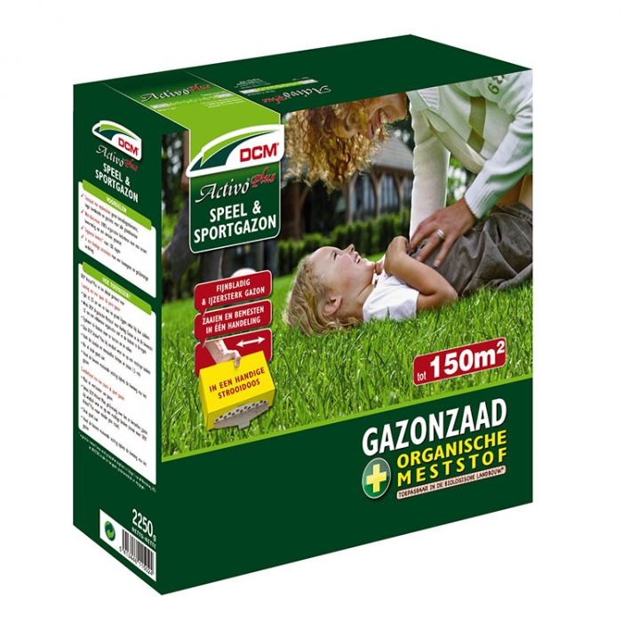 Graszaad Activo Plus DCM Speel- en sportgazon - 2,25 kg