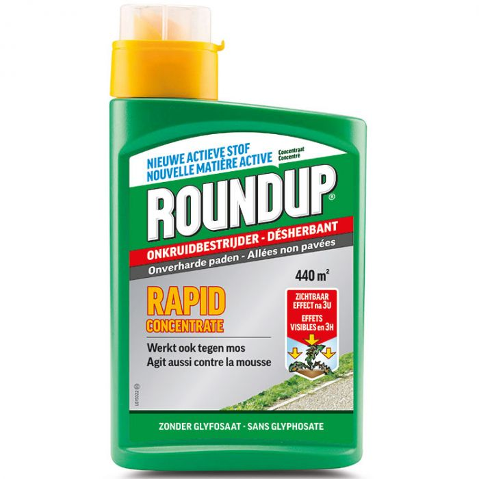 Roundup Rapid Concentrate, paden 990 ml